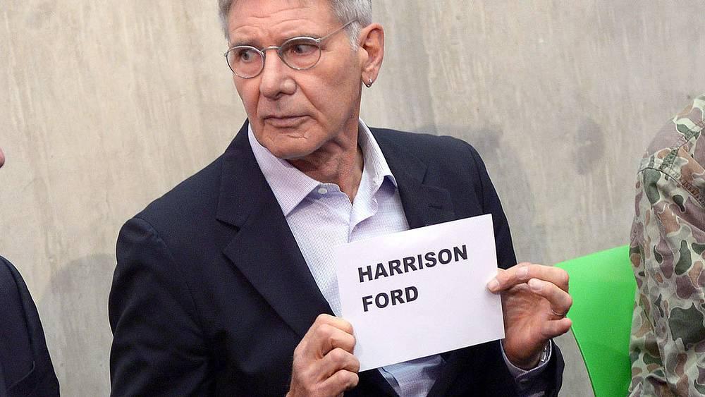 Харрисон Форд. Фото AP/Jon Furniss