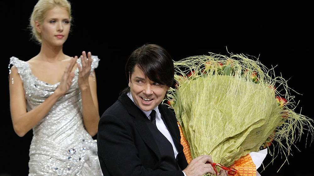 Валентин Юдашкин во время Недели моды в Москве, 2008 г. Фото AP Photo/Misha Japaridze