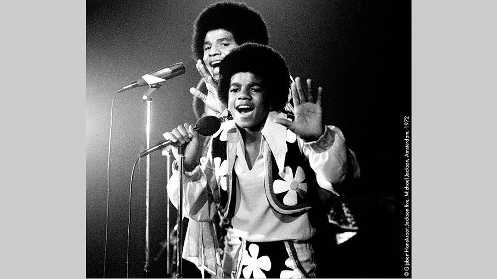 Группа Jackson five, 1972 г. Фото Гилберт Ханекроот