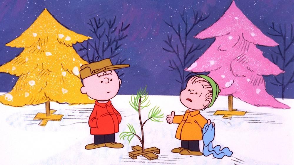 """Рождество Чарли Брауна"", кадр из комикса Чарльза Шульца. 1965 год. Фото AP Photo/ABC"
