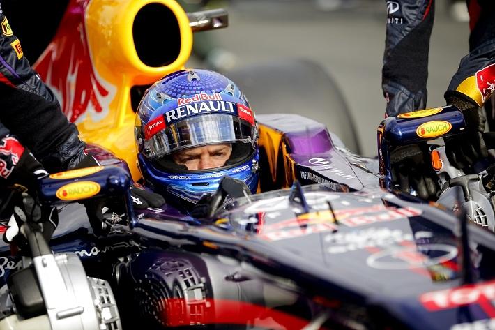 Себастьян Феттель перед стартом Гран-при Австралии