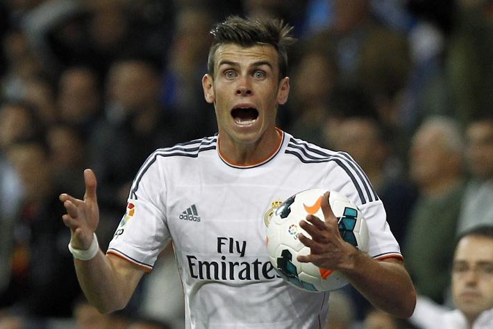 """Гарет Бэйл /""""Реал"""", сборная Уэльса/. AP Photo/Andres Kudacki"""