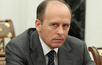 Director of Russia's Federal Security Service (FSB) Alexander Bortnikov