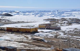 Russian Antarctic polar research station
