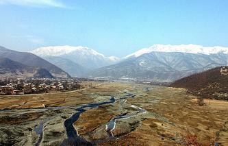 Pankisi Gorge in Georgia