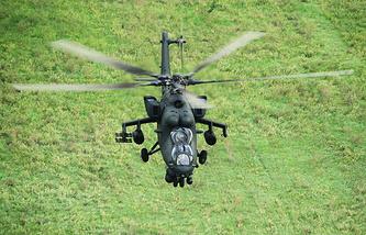 Ударный вертолет Ми-35М