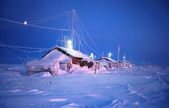 На острове Среднем архипелага Северная Земля, 1997 г