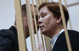 Директор Библиотеки украинской литературы Наталья Шарина