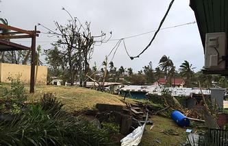 """Последствия тропического циклона """"Уинстон"""""""