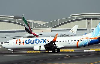 17 ноября 2011, Boeing 737-800 авиакомпании FlyDubai