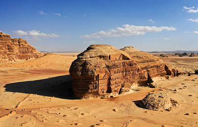 It's like Aladdin's Whole New World. Saudi Arabia opens first tourist itinerary