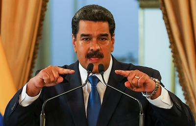 Maduro says he will not allow US humanitarian aid in Venezuela