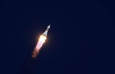 Soyuz MS-12 manned spacecraft reaches orbit