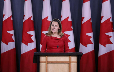 Canada introduces new sanctions against Russia