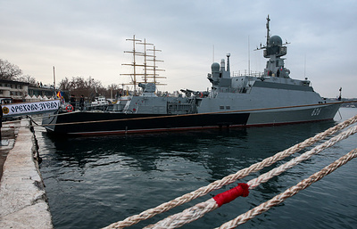 Russia's Orekhovo-Zuyevo missile corvette sets out on first mission to Mediterranean