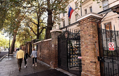 Russian embassy points at May's 'narrow definition' of liberalism