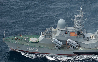 Russia's upgraded missile corvette holds live-fire exercise in Sea of Japan
