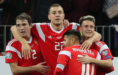 Russia defeats Scotland 4:0 in UEFA Euro qualifiers