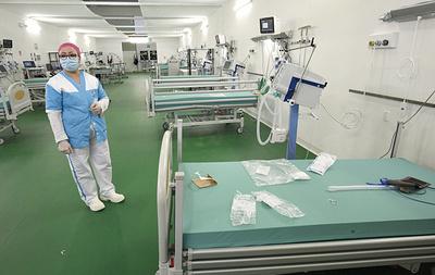 Field hospital in Bergamo begins to receive COVID-19 patients