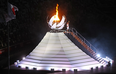 Olympic Flame lit at XXXII Summer Olympics in Tokyo