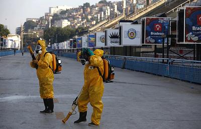Бах: Международный олимпийский комитет следит за ситуацией с вирусом Зика в Бразилии