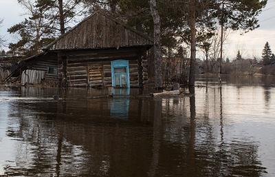Подтопленные дома в Омской области будут просушивать при помощи тепловых пушек