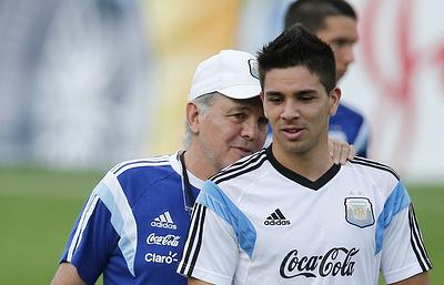 Сын Диего Симеоне сыграет за сборную Аргентины по футболу на Олимпийских играх-2016