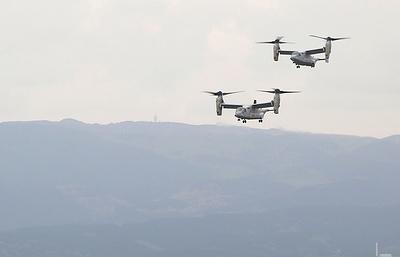 США частично возобновляют полеты конвертопланов Osprey в Японии