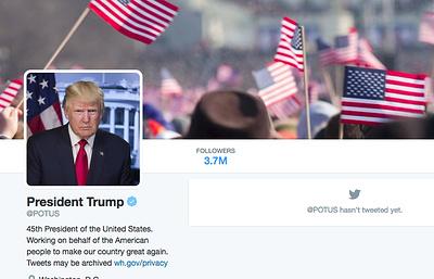 Twitter по ошибке насильно подписал около 560 тыс. человек на президентский аккаунт Трампа
