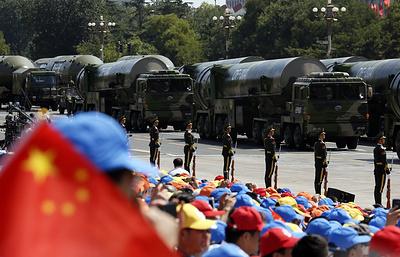 Эксперт: размещение Китаем ракет у границ РФ направлено против США