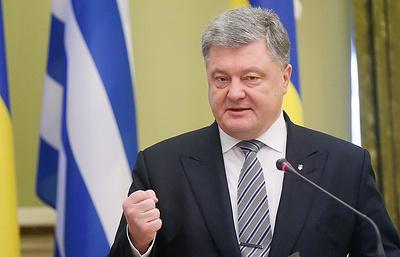 Порошенко поблагодарил Нидерланды за поддержку ассоциации ЕС и Украины