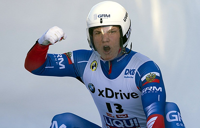 Россиянин Роман Репилов стал обладателем Кубка мира по санному спорту