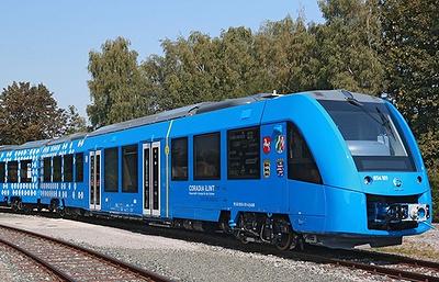 Alstom завершил испытания первого Coradia iLint на водородном топливе
