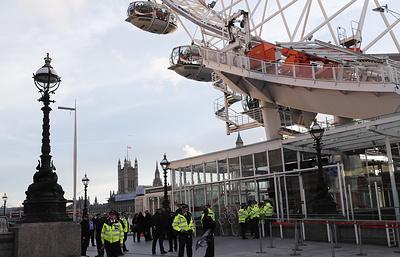 Sky: колесо обозрения London Eye было остановлено в Лондоне