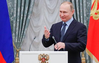 """Путин заинтересовался фильмом-сказкой """"Последний богатырь"""""""