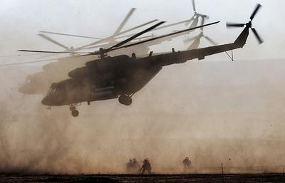 В Крыму завершились масштабные учения ВДВ