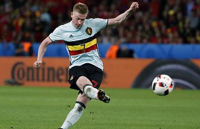 Футболист сборной Бельгии Де Брейне не сыграет с командой России из-за травмы