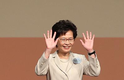 Кэрри Лам станет первой женщиной во главе администрации Гонконга