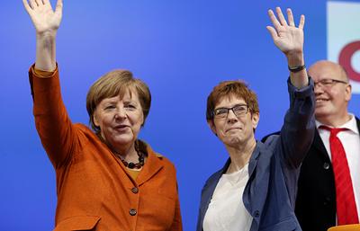 Партия Меркель победила на выборах в Сааре
