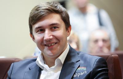 Сергей Карякин открыл шахматный клуб в Симферополе