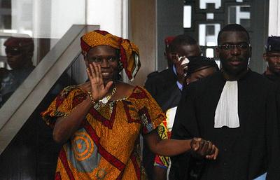 СМИ: суд оправдал бывшую первую леди Кот-д'Ивуара