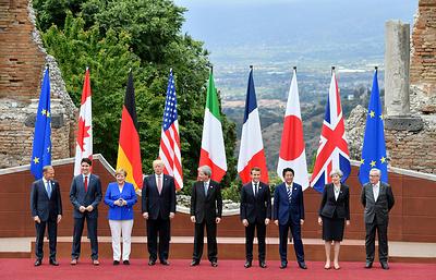 Лидеры G7 подписали декларацию по борьбе с терроризмом и экстремизмом