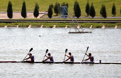 Российская четверка завоевала золото на ЧЕ по академической гребле в Чехии