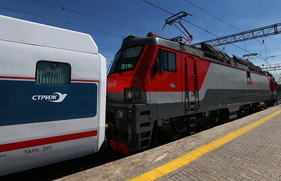 В Москве два электропоезда столкнулись на Курском вокзале