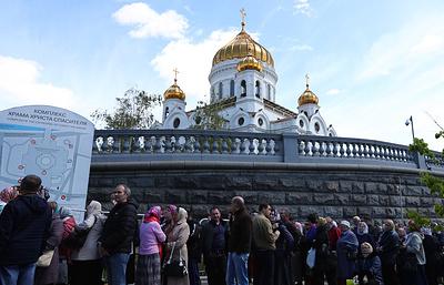 Миллион человек поклонились мощам Николая Чудотворца в Москве