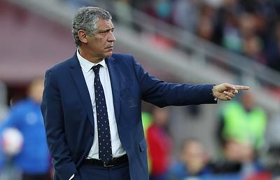 Тренер: сборная Португалии на Кубке конфедераций нацелена на максимальный результат