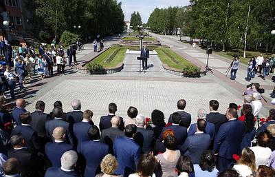 В Югре прошел митинг памяти первого мэра Нефтеюганска Владимира Петухова