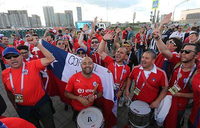 Чилийцы в Казани оформили более 3 тысяч паспортов болельщиков на Кубок конфедераций