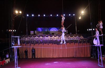 Артисты из РФ и Белоруссии выступили на фестивале циркового искусства Circuba 2017