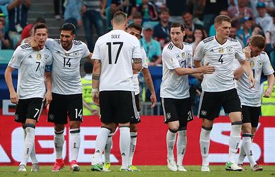 Сборные Германии и Мексики оспорят вторую путевку в финал Кубка конфедераций